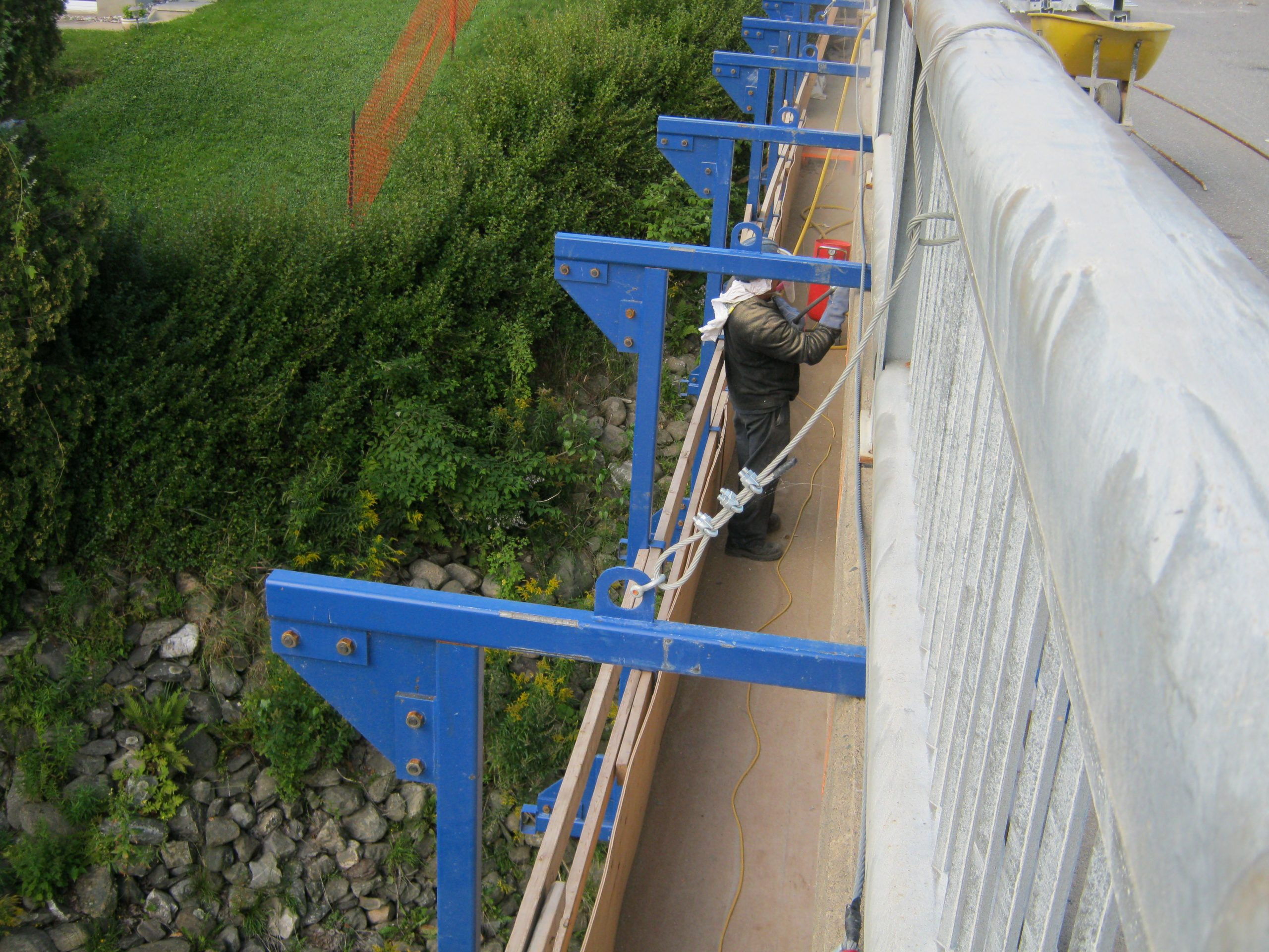 Pont St-Claire Inter-Projet | Entrepreneur en Construction | Bâtiment et Génie civil